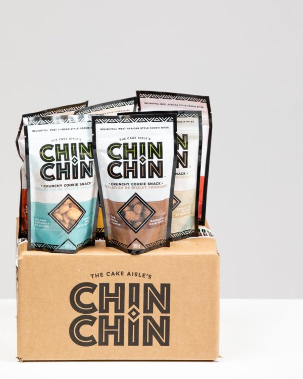 variety box of chinchin